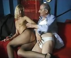 Daddy Handjob MILF Daddy Milf Pantyhose Old And Young