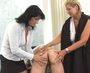 What is the Name of the Blonde Czech CFNM Chubby MILF ?