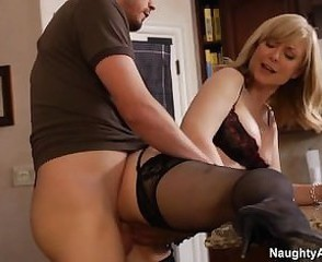 Mom Doggystyle Mature Mature Stockings Mom Son Old And Young