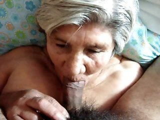 cumshot   facial   granny   mature   old woman   sucking