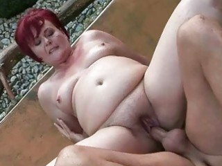 Video from: sunporno | chubby grandma acquires her pussy gang-banged openair