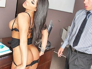Secretary Amazing Office Latina Big Ass Latina Milf Lingerie