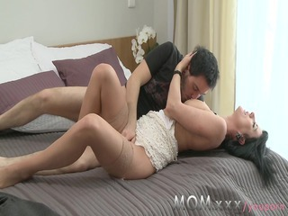 Mom Old And Young Cheating Mom Milf Stockings Old And Young