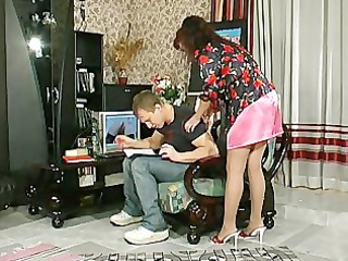 Skirt Russian Mom Old And Young Pantyhose Mature Pantyhose