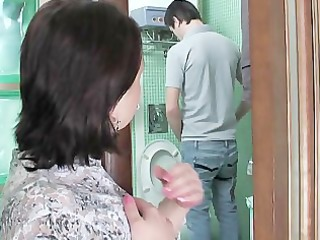 Toilet Voyeur Russian Old And Young Russian Milf Russian Mom