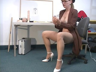 Mature Secretary Glasses Glasses Mature Mature Ass Squirt Mature