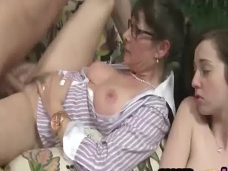 Family Daughter Glasses Daughter Daughter Ass Daughter Mom