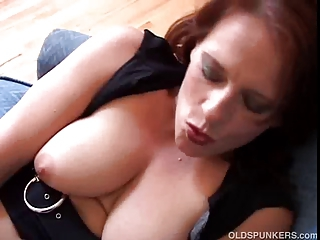 Mature Redhead Saggytits Giant Tits