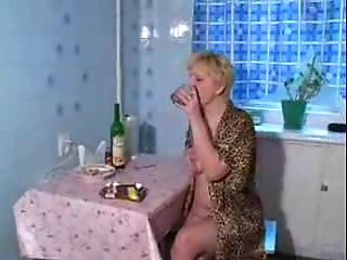 Drunk Russian Amateur Drilled Drunk Mature Homemade Mature