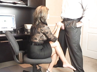 Handjob  Office Milf Office Office Milf