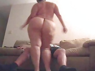 chubby lady with huge ass drilled