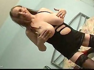 dutch cougar masturbating xlx
