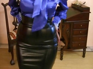 Latex Vintage Skirt