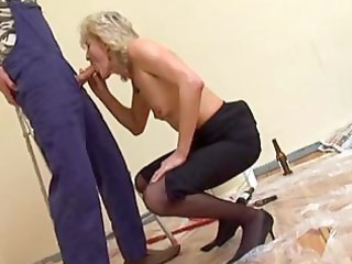 mature in nylons gangbangs the decorator
