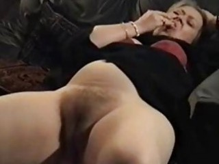 elderly european cougar nailed