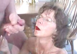 Older Cumshot Facial Amateur Cumshot Cumshot Ass Homemade Wife