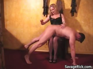 hawt darksome leather blonde mother i chick acquires part3