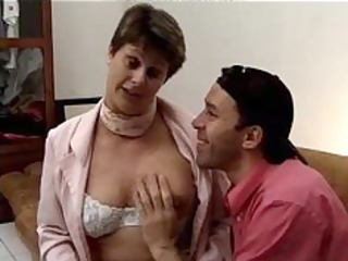 Granny Ejaculation French Riding Tits Footjob