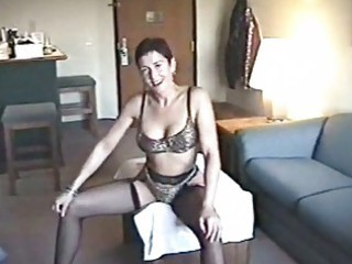 lascivious mother i hoe posing in sexy underware