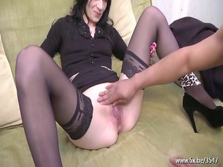 djalinda analfucked in nylons