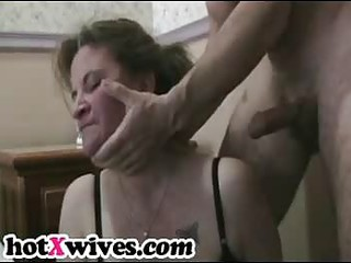 lewd ex wife receives coarse mouth fuck