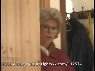 Granny Mother Milf Facial