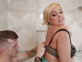 Mom Old And Young Bathroom Bathroom Mom Milf Lingerie Old And Young