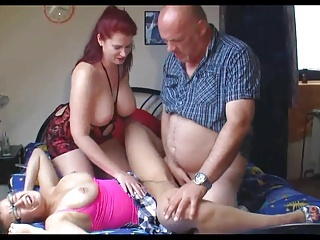 MILF Piercing Threesome Boobs Milf Threesome Threesome Milf