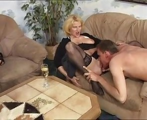 Mature Stockings Licking Drunk Mature European German