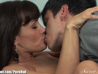 Brunette Kissing  Big Tits Brunette Big Tits Milf Big Tits Mom