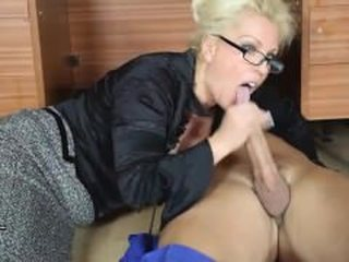 leggylana.com;blonde;milf;stockings;heels;sucking-cock;big-tits;stroking;glasses;cum-in-mouth;
