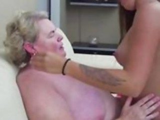 chubby, granny, milf pussy, mommy licking