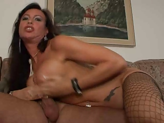German Fishnet MILF Fishnet German Milf