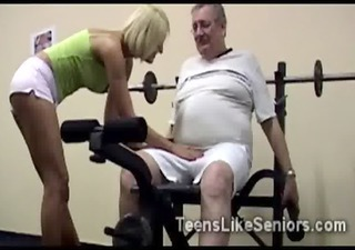 Sport Daddy Old And Young Amateur Amateur College Daddy Gym Old And Young