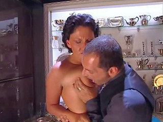 Brunette European Italian Italian Milf Old And Young