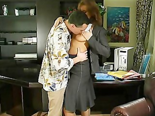 Mom Old And Young Russian Milf Office  Office Milf