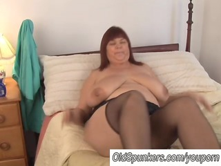 hot horny woman inside pantyhose