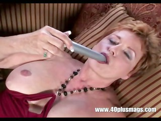 granny horny housewife in solo