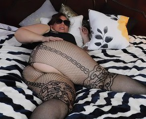 Ass Chubby Fishnet Bbw Mature Chubby Ass Chubby Mature