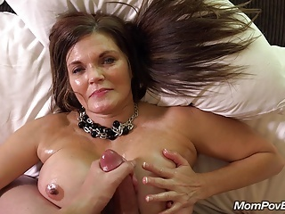 Old And Young Mom Pov Big Tits Cumshot Big Tits Milf Big Tits Mom