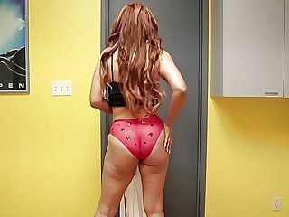 Spanish Long Hair Ass Lingerie Milf Ass Milf Lingerie