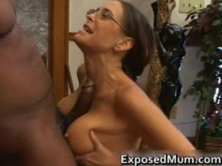 Glasses Interracial Ass Big Cock Ass Big Tits Big Cock Mature