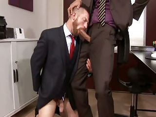 Big Cock Blowjob Office
