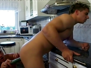 Sexy hunks ass toying and fucking