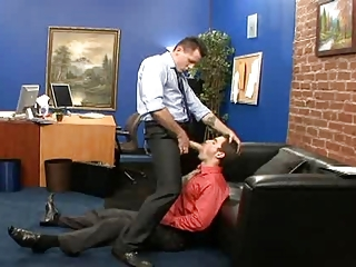 Big Cock Office Blowjob