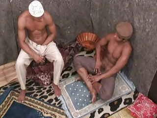 Arab Masturbating Muscled