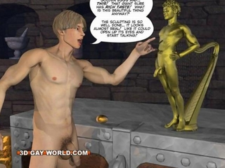 JACK AND THE BEANSTALK 3D Gay Comic Anime Version