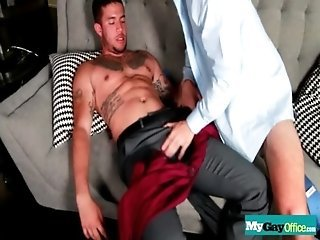 Hot Back Office Action Porn Gay Videos 02