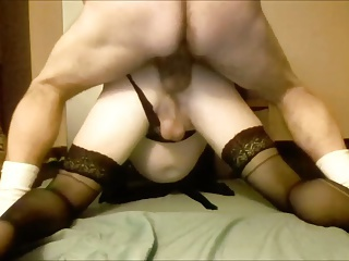 amateurs, bareback, crossdressing, fuck finger, homosexual