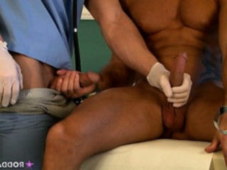 amateurs, bodybuilder, doctor, handjob, homosexual